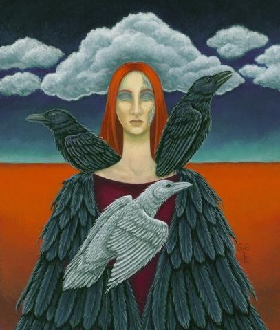 Paintings by artist Diane Kremmer